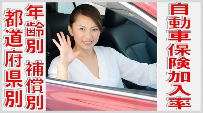 自動車 保険 加入率 年齢 別 サムネイル