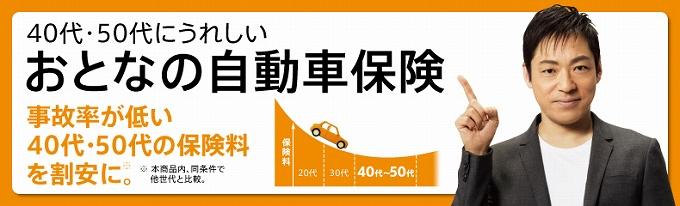 自動車 保険 加入率 年齢 別 年代別人気会社2