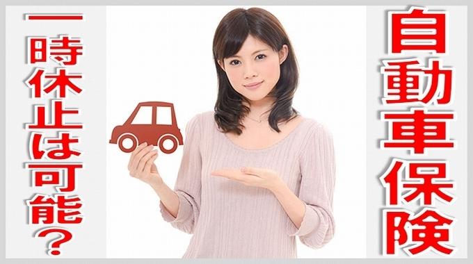 自動車 保険 一時 休止 サムネイル