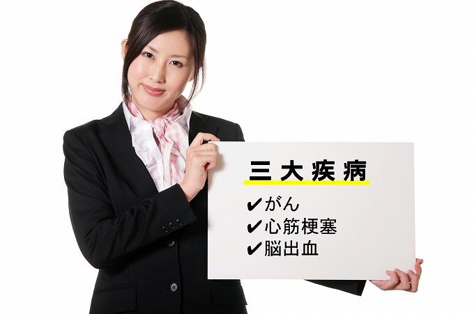医療保険 P免 三大疾病