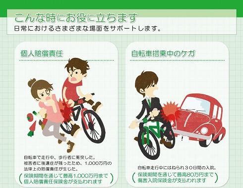 自転車保険 子供 同乗 自転車保険とは